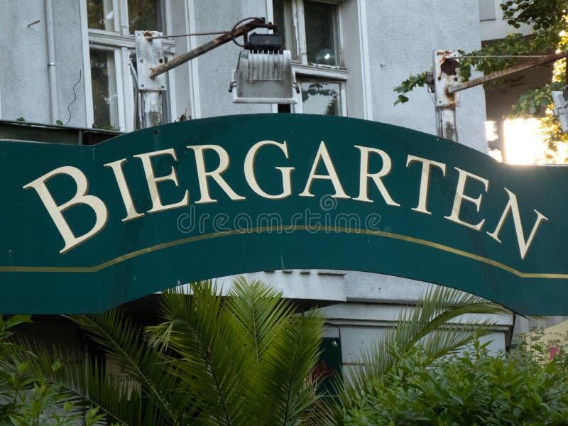 Niemiec beergarden zdjęcia stock