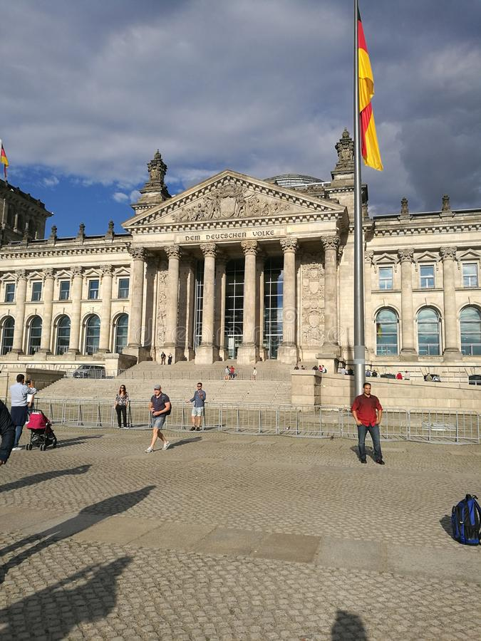 niemiec Bundestag obraz royalty free