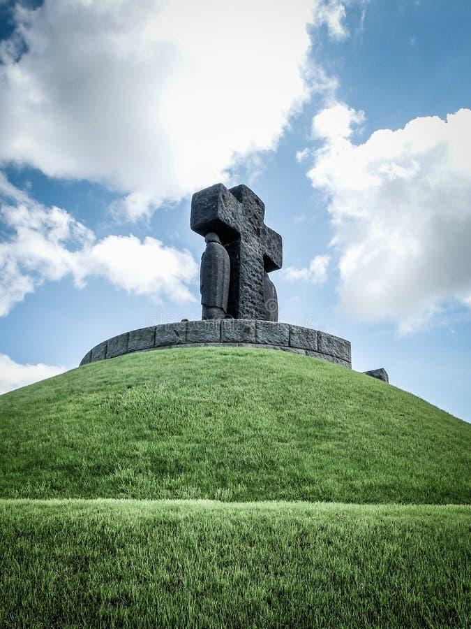 niemiec cmentarniana wojna zdjęcia royalty free