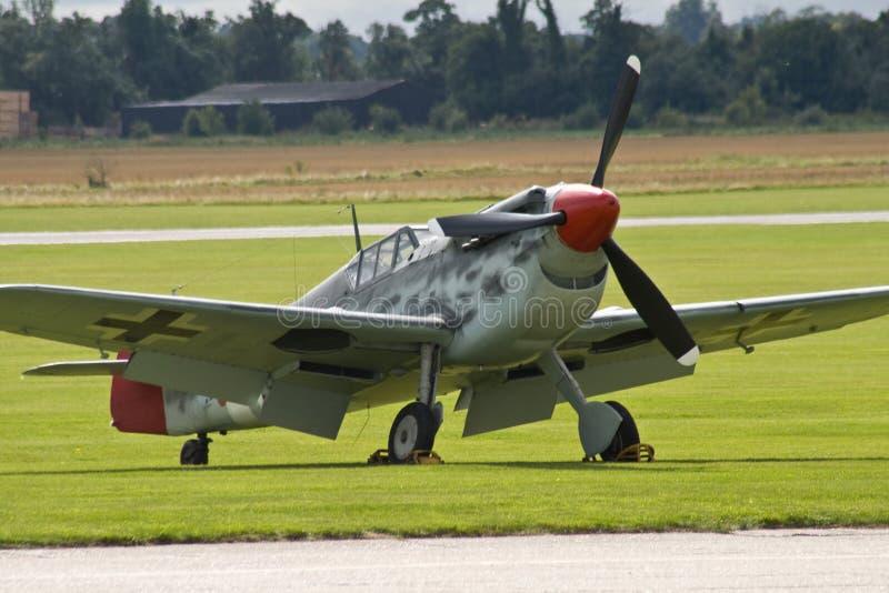 niemiec myśliwski samolot ww2 zdjęcia stock