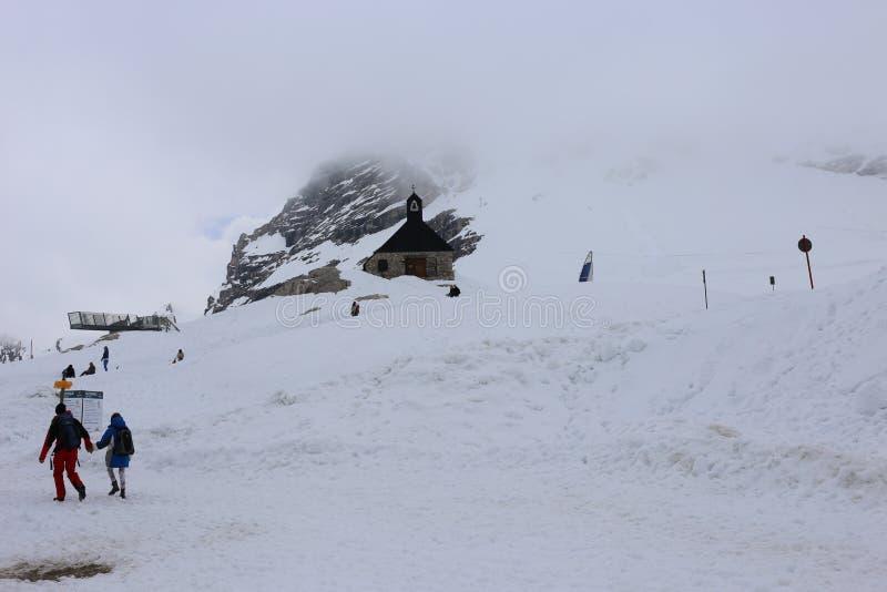 Niemieccy Alps Podczas lata obrazy royalty free