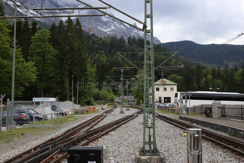 Niemieccy Alps Podczas lata zdjęcie royalty free