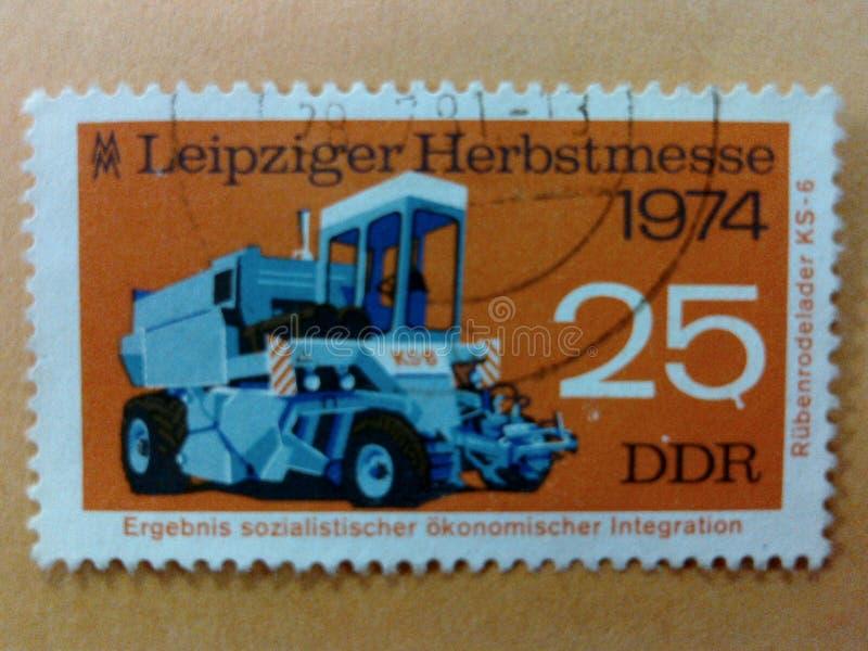 Niemieccy poczta znaczki zdjęcie stock