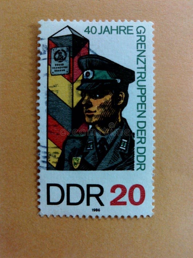 Niemieccy poczta znaczki zdjęcie royalty free