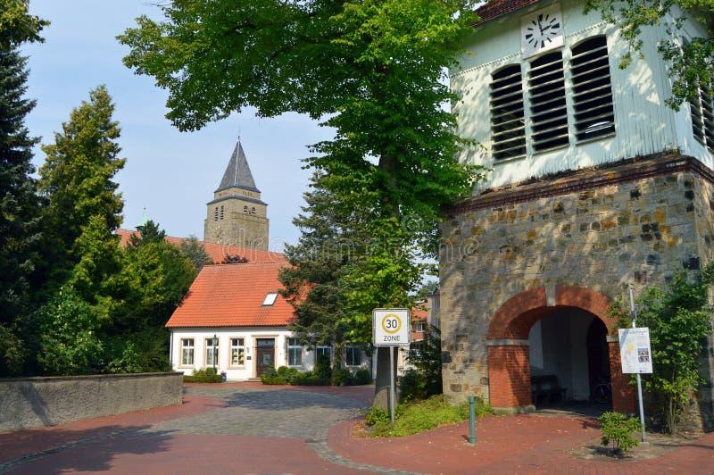 Niemiecka wioska obrazy royalty free