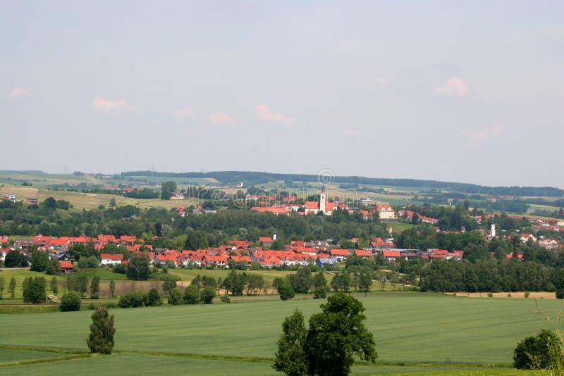 niemiecka wioski fotografia royalty free