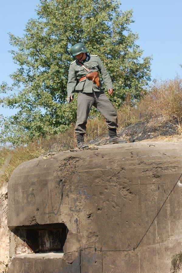 niemiecki żołnierz fotografia stock