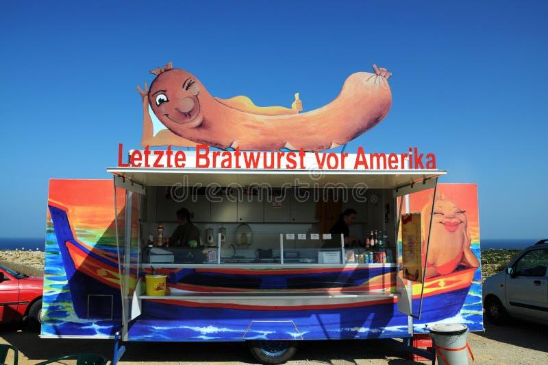 Niemiecki bratwurst zdjęcie royalty free