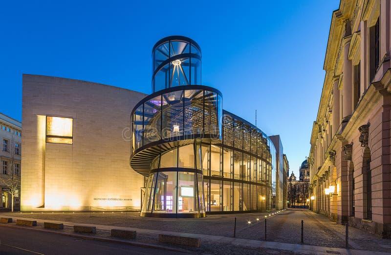 Niemiecki Dziejowy muzeum w Berlin (Deutsches Historisches) obraz stock