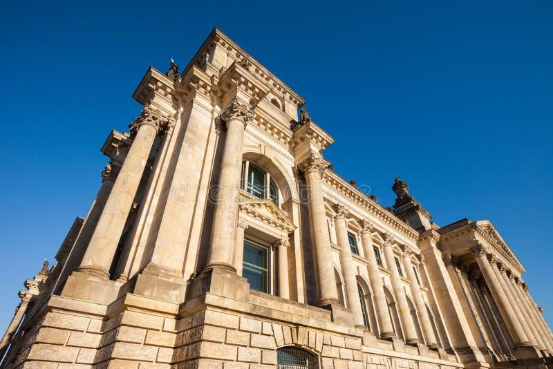 Niemiecki Federacyjny parlament (Reichstag) zdjęcia stock