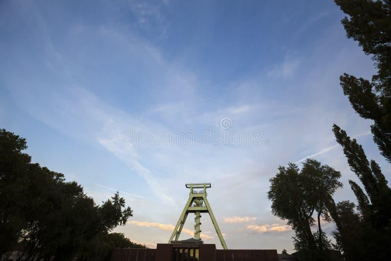 Niemiecki górniczy muzealny Bochum Germany fotografia royalty free