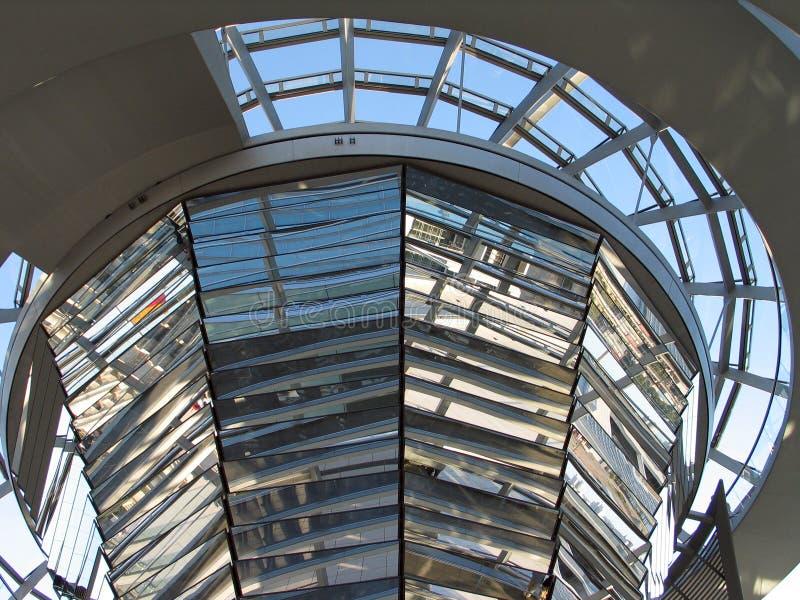 niemiecki parlament kopuły obrazy stock