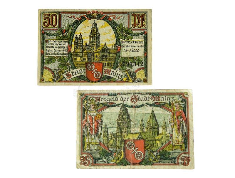 Download Niemiecki pieniądze obraz stock. Obraz złożonej z stary - 41955221