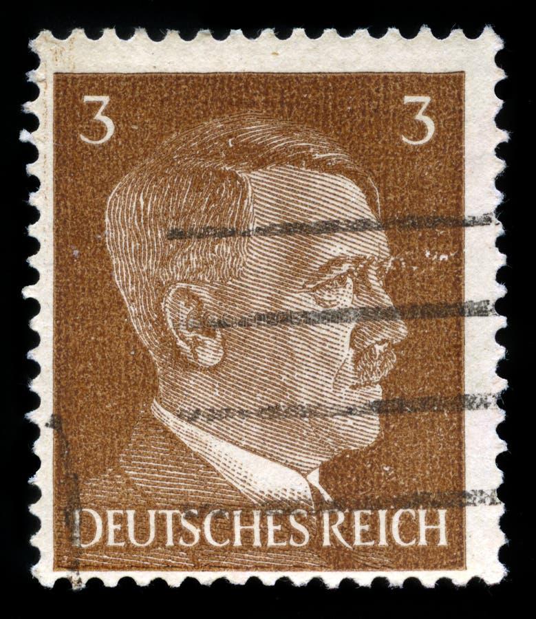 Niemiecki rzesza znaczek pocztowy od 1941 obrazy royalty free