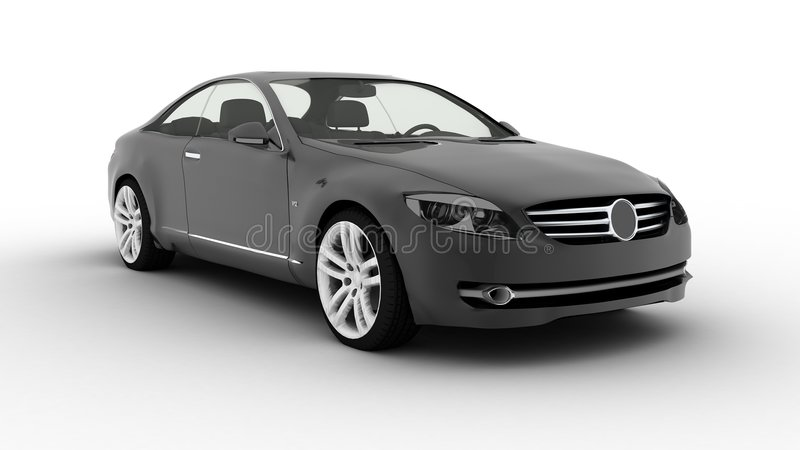 niemieckie sport luksusów samochód ilustracja wektor