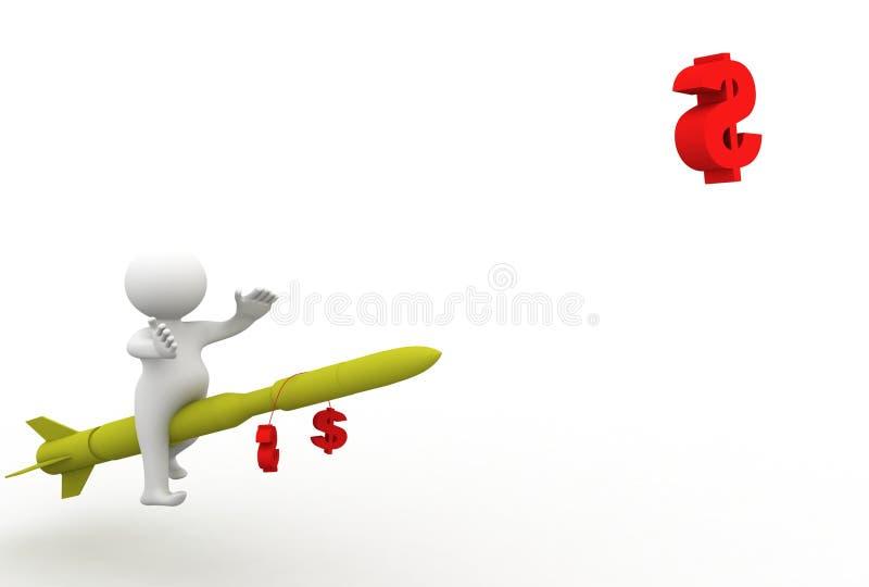 Download Niemożliwy nic ilustracji. Ilustracja złożonej z mężczyzna - 13330041