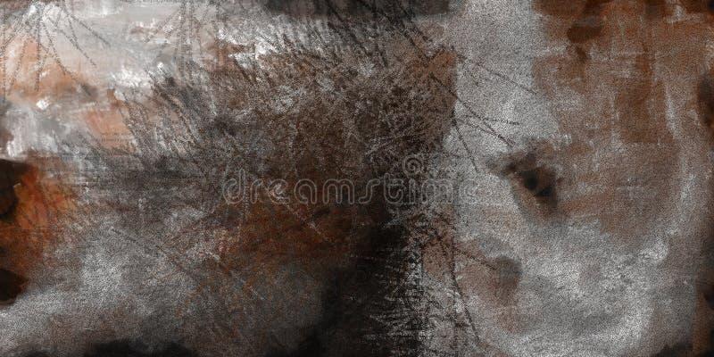Niemy Abstrakcjonistyczny obraz royalty ilustracja
