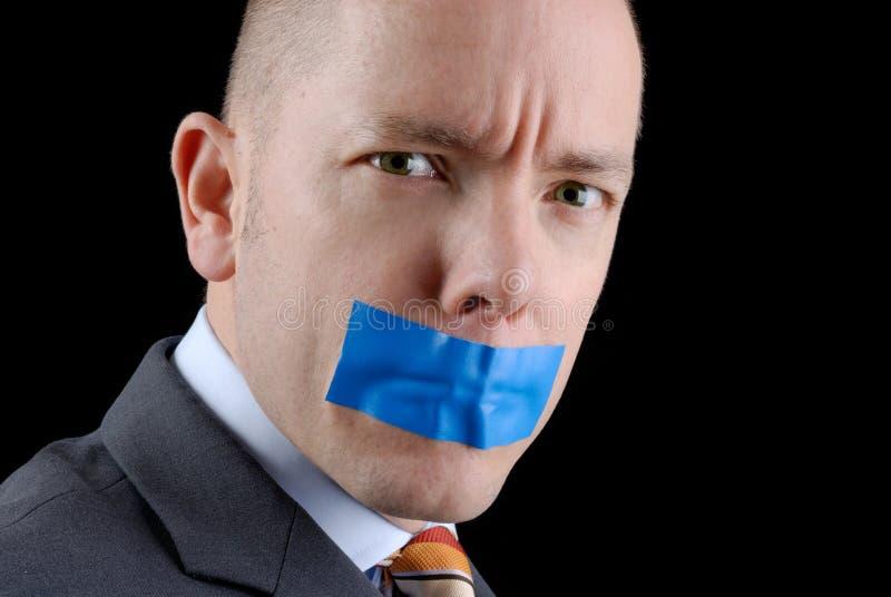 Niente dire immagini stock libere da diritti