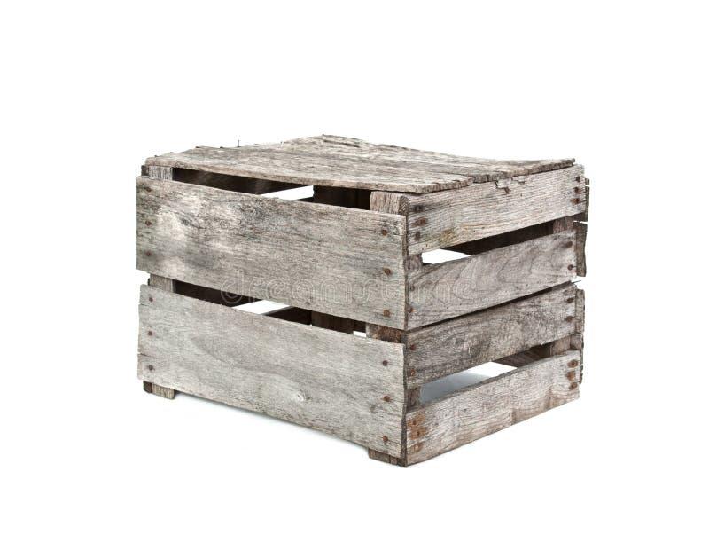 Nieociosana drewniana skrzynka zdjęcie royalty free