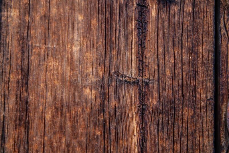 Nieociosanej stajni drewniany tło lub tekstura zdjęcie royalty free
