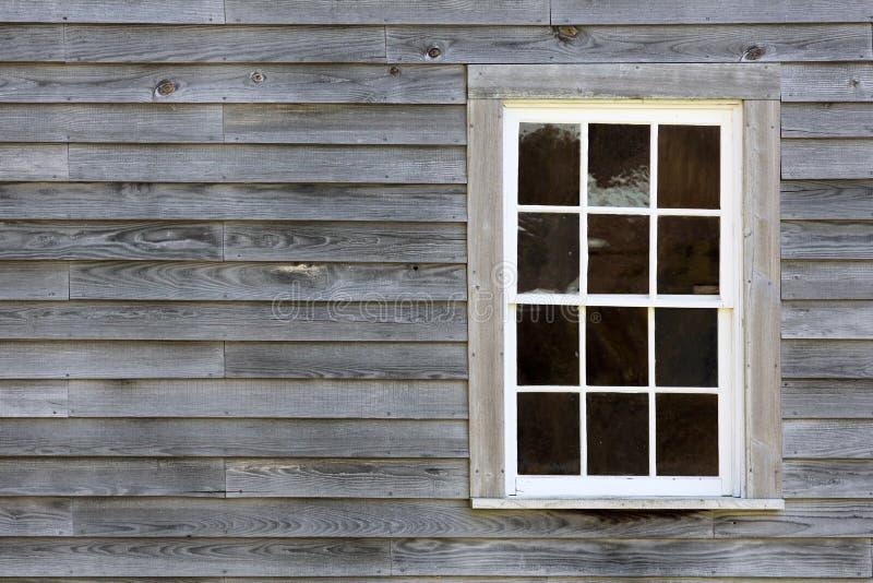 Nieociosany drewniany deski ściany tło fotografia stock