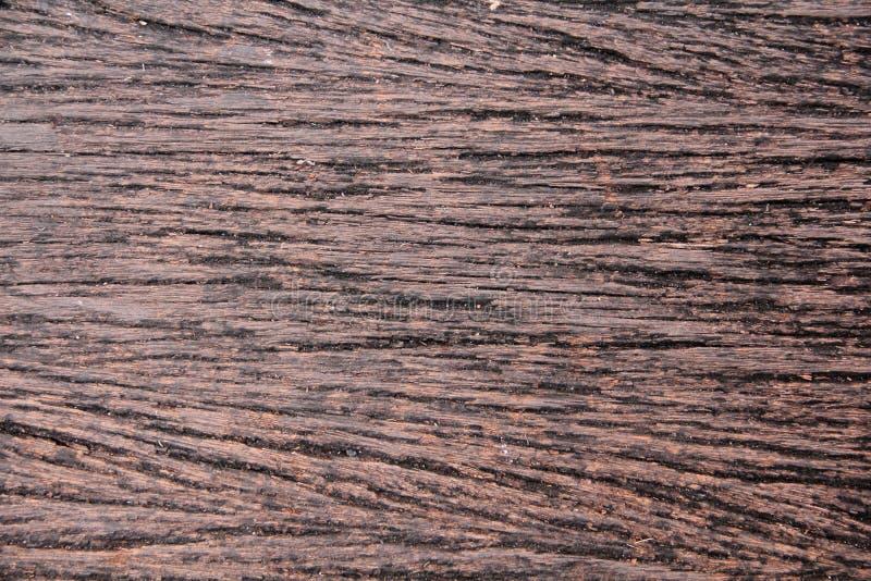 Nieociosany naturalny drewniany tekstury brąz obraz royalty free