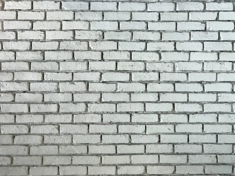 Nieociosany stary biały ściany z cegieł tła wizerunek obrazy royalty free