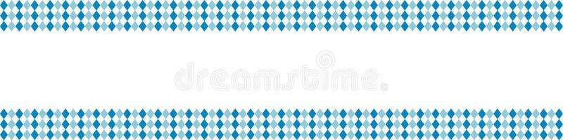 Nieociosany sztandaru tło z kopii przestrzenią dla Oktoberfest ilustracji