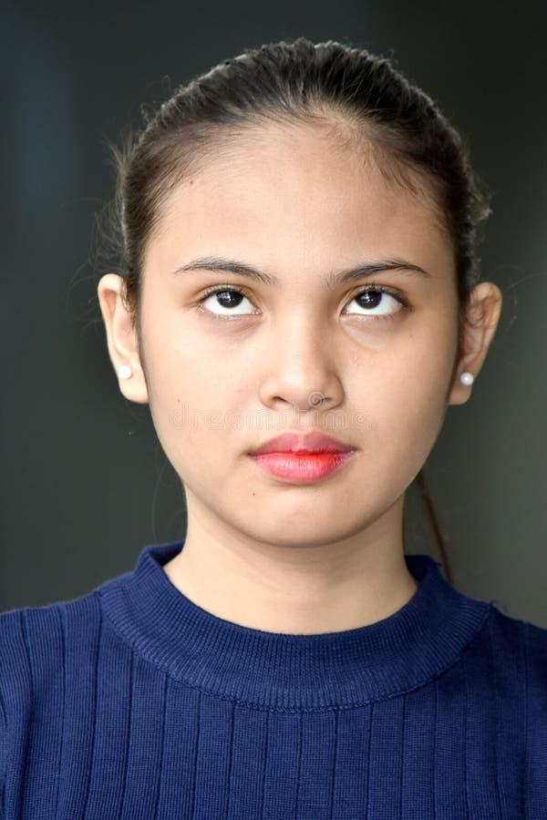 Nieopiekuńcza nastolatek dziewczyna zdjęcie royalty free