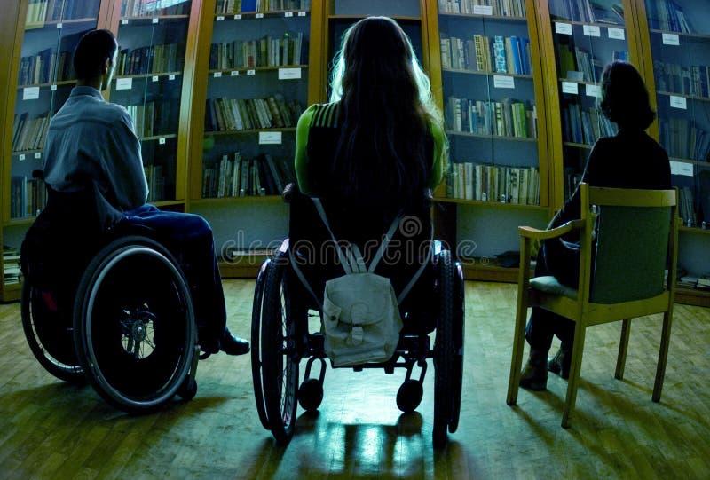 niepełnosprawni zdjęcia stock