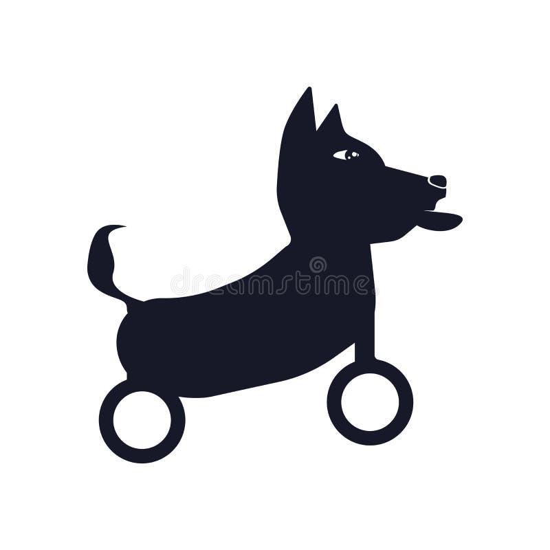 Niepełnosprawny ikona wektoru znak i symbol odizolowywający na białym tle, Niepełnosprawny logo pojęcie ilustracja wektor