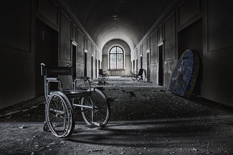 Niepoczytalny azyl fotografia royalty free