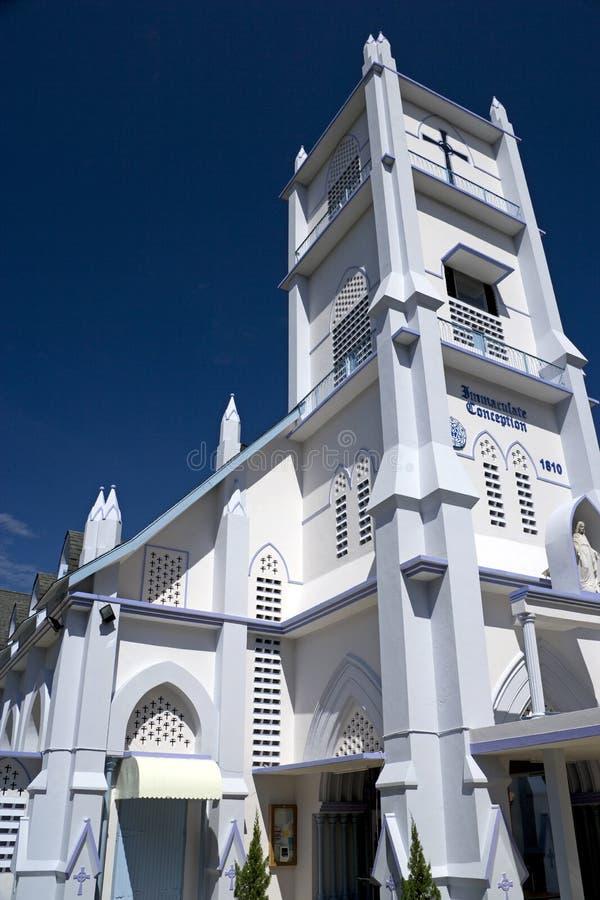 niepokalany kościelny poczęcie zdjęcia royalty free