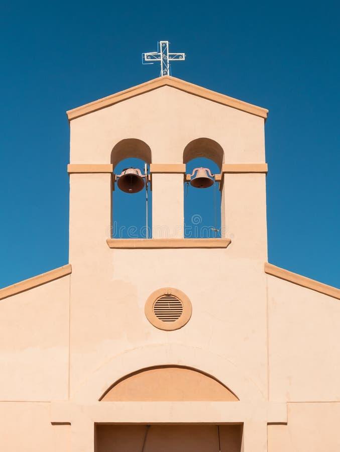 Niepokalany serce Maryjny kościół katolicki obraz stock