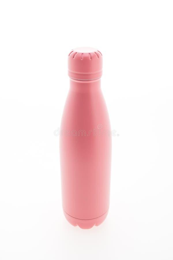 Nierdzewna próżniowa kolba i butelka fotografia royalty free