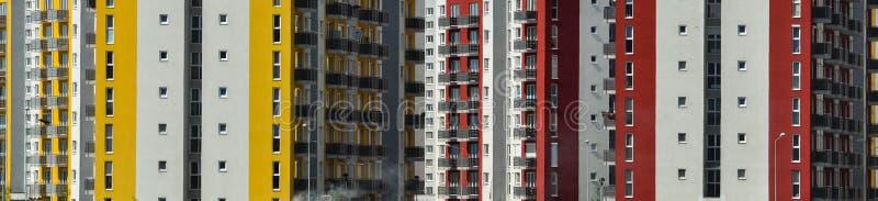 Nieruchomość, demograficzny wybuch, mieszkania bloki obraz stock
