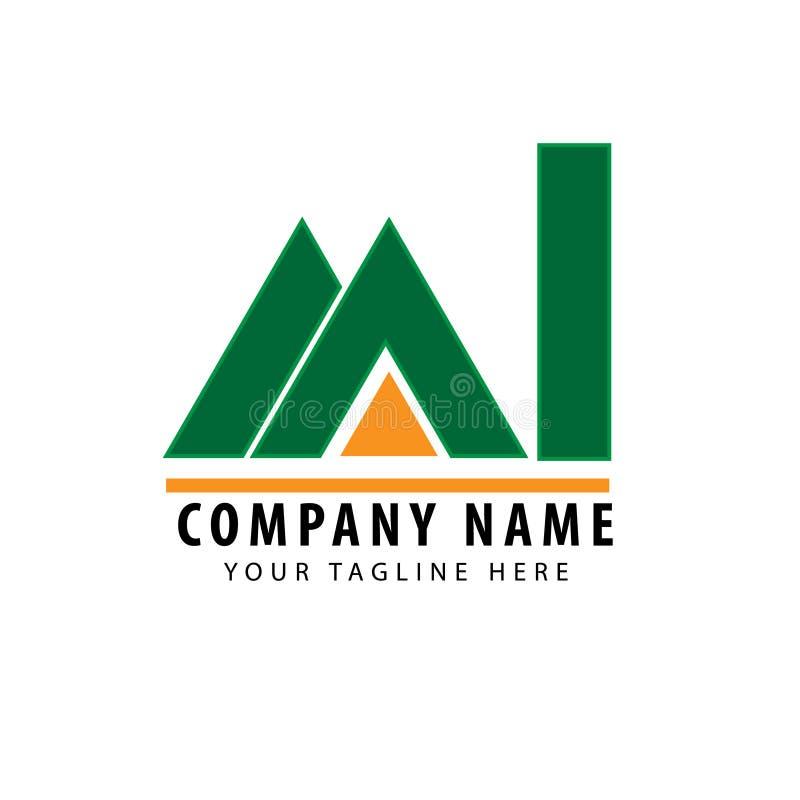 Nieruchomość logo obraz royalty free