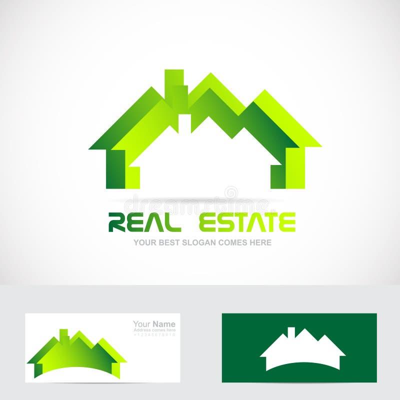 Nieruchomość mieszkaniowy logo ilustracja wektor