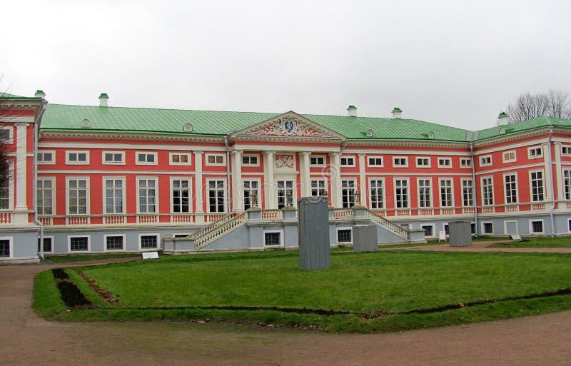 Nieruchomość Sheremetev rodzina, Kuskovo pałac w Moskwa, Rosja fotografia stock