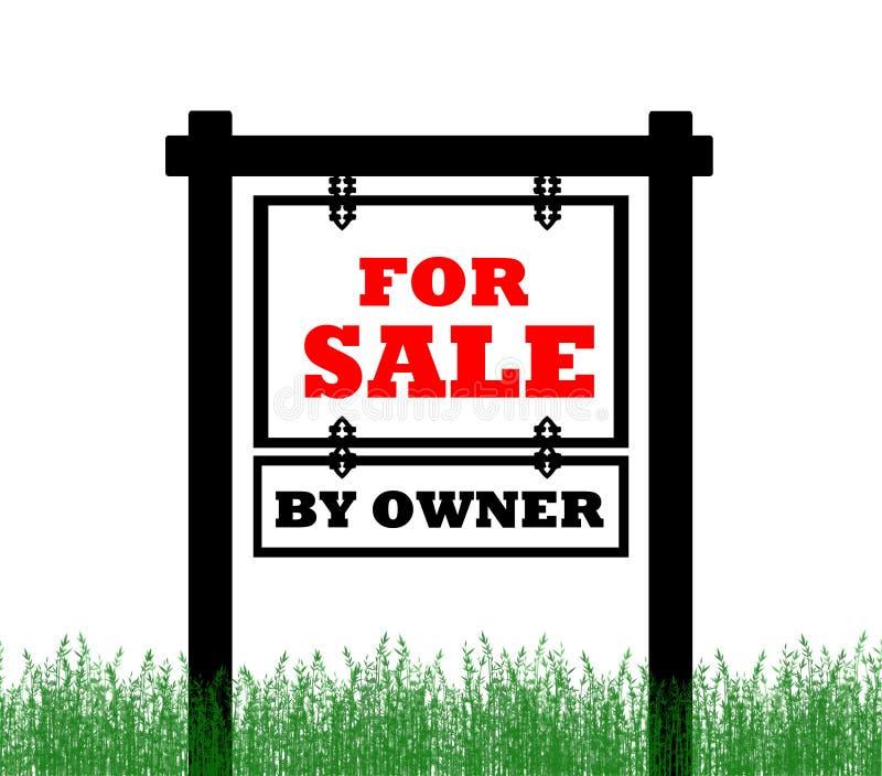 nieruchomości domowy istny sprzedaży znak ilustracji