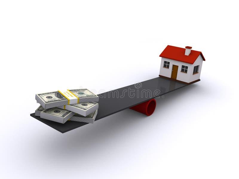 nieruchomości finansowania real obraz stock