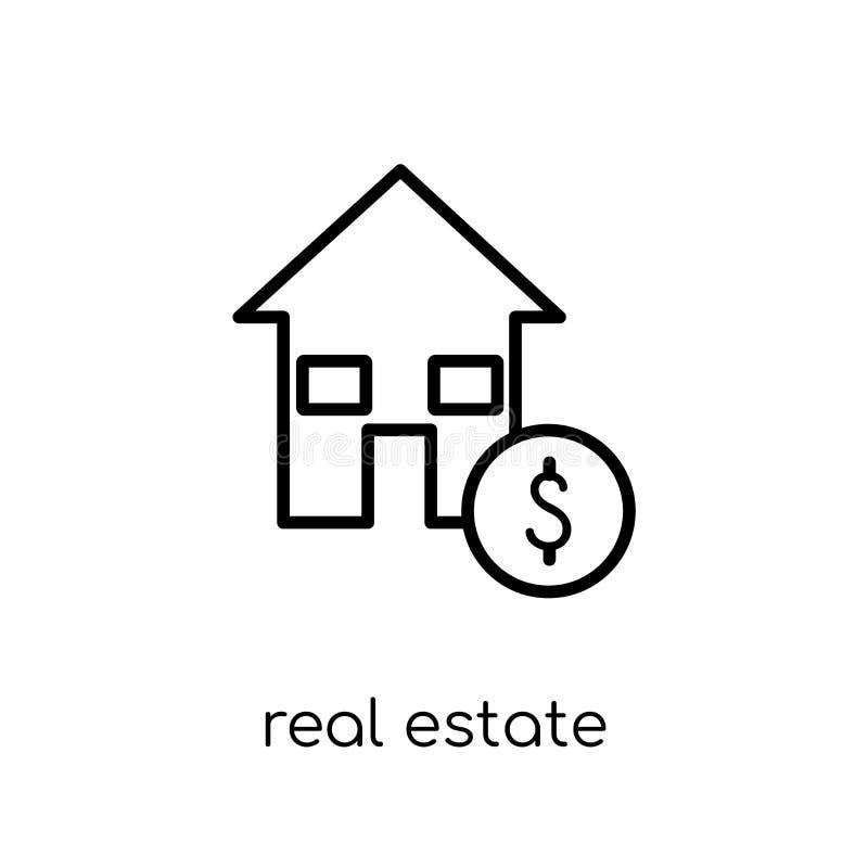 Nieruchomości inwestorskich zaufań ikona  ilustracja wektor