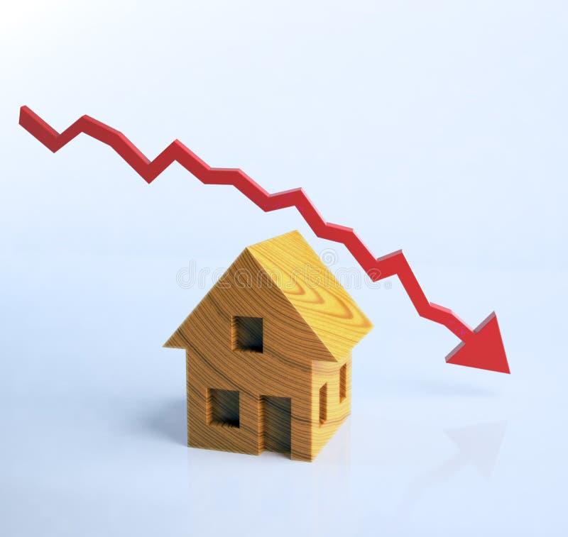 nieruchomości inwestyci real ilustracji