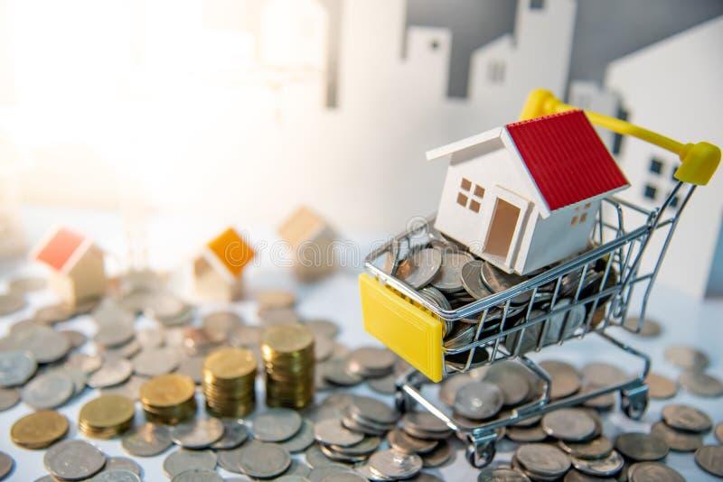 Nieruchomości lub własności inwestyci pojęcie obraz stock