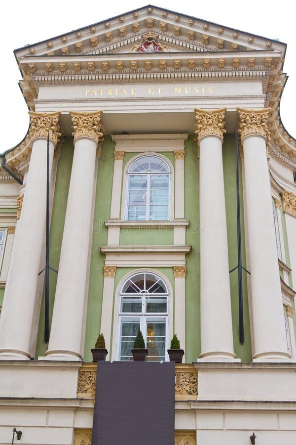 nieruchomości Prague theatre fotografia stock