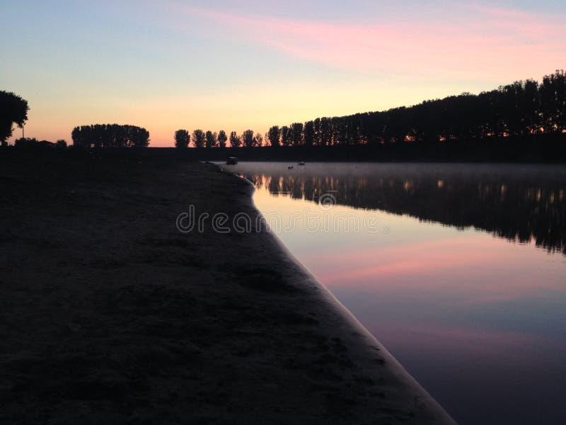 niesamowite wschód słońca zdjęcia stock