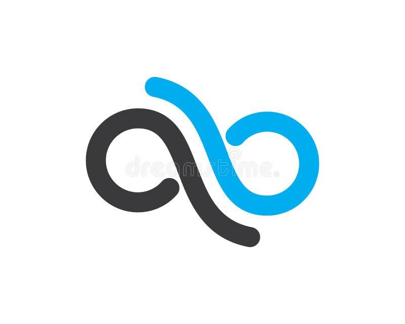 Nieskończoność projekt, nieskończoność logo wektoru ikona ilustracja wektor