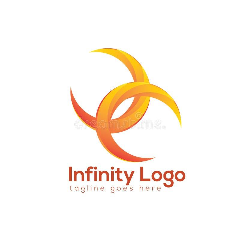 Nieskończoność logo fotografia stock
