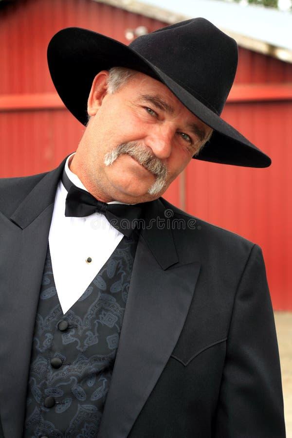 Nieskory Formalny kowboj zdjęcie stock