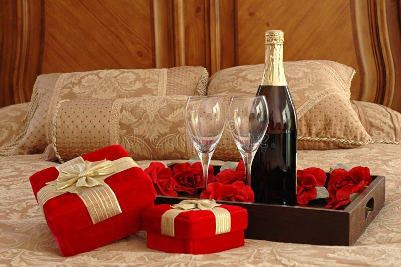 niespodzianka, romantyczna zdjęcie stock